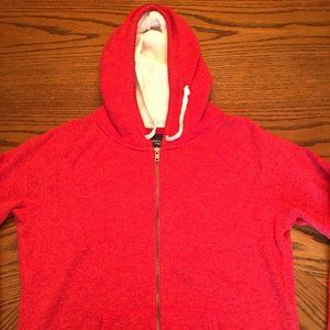 American Eagle Outfitters Womens Orange Hoodie